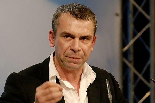 Philippe Torreton à Paris en février 2007.