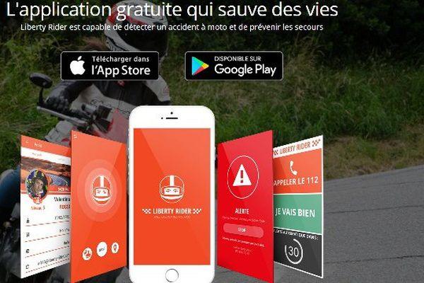 Une application intéressante mis en place par 4 motards et qui peut sauver des vies. Les motards représentent seulement 2% du trafic, ils représentent surtout 20% des tués.