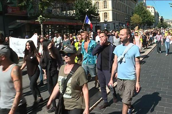 Manifestation des gilets jaunes le 28 septembre à Nice