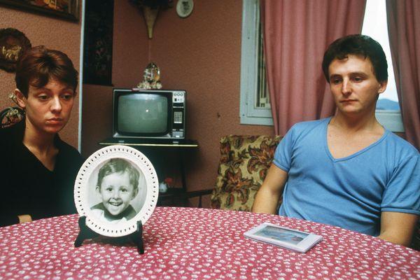 Les parents de Grégory, Christine et Jean-Marie Villemin, en 1984.