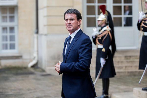 Manuel Valls, le 9 novembre 2016 à Paris.