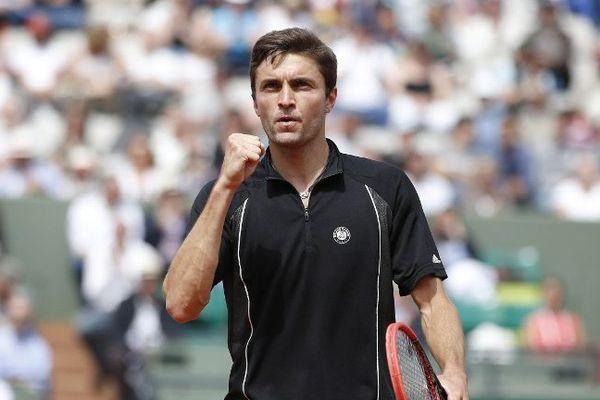 Gilles Simon s'est qualifié pour les 8ème de finale de Roland Garros