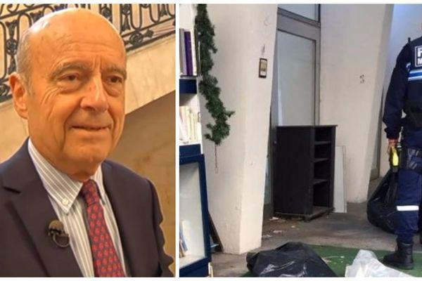 Alain Juppé a regretté la destruction de la bibliothèque de rue de Neneuil