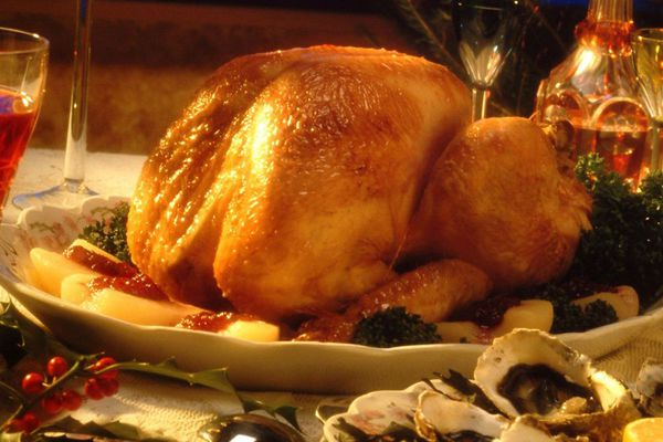 Tout le secret d'une bonne dinde de Noël réside dans la cuisson, selon le chef Régis Marcon.