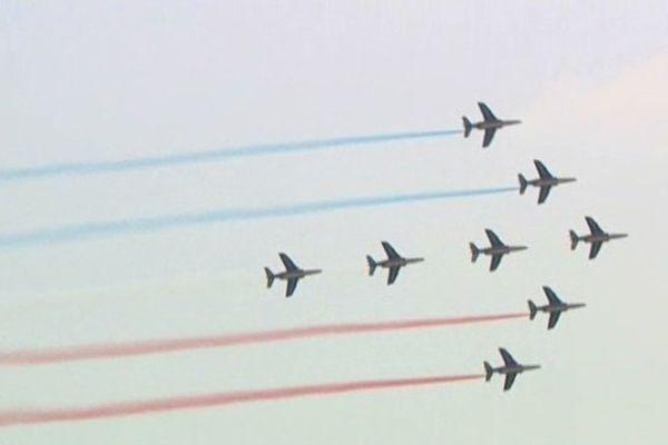 Immuables et toujours prisées les acrobaties aériennes de la patrouille de France