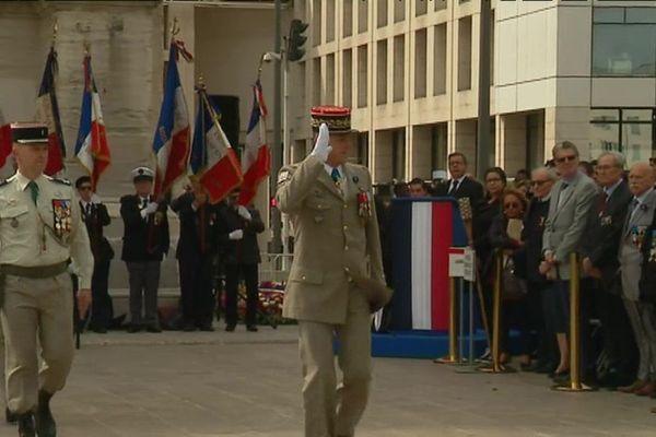 Cérémonie de commémoration du 8 mai 1945 à Marseille