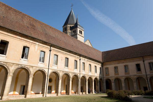 L'abbaye de Cluny (Saône-et-Loire) en octobre 2018.