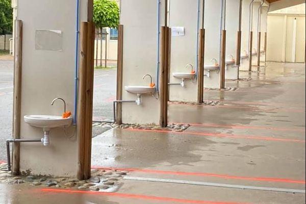28 points d'eau supplémentaires ont été installés en primaire et en maternelle à Buzet-sur-Tarn