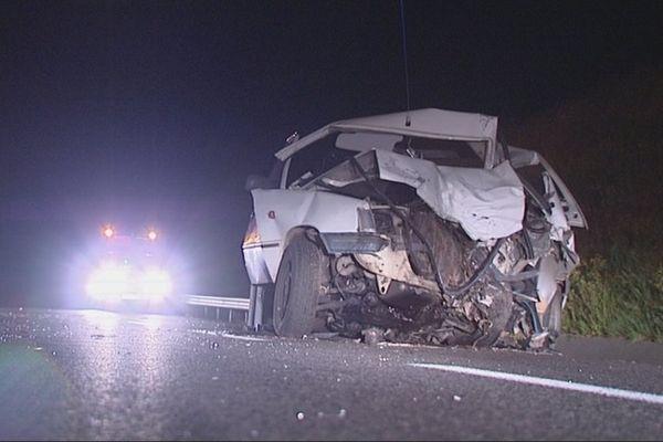 L'accident a eu lieu à Bellac, en Haute-Vienne.