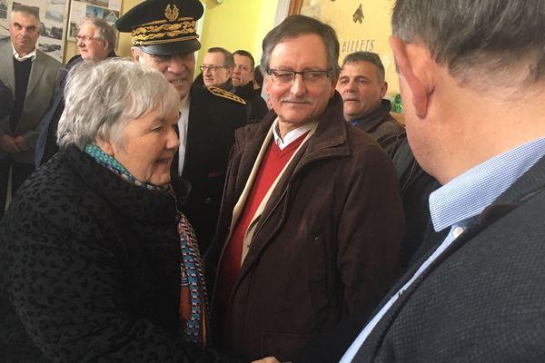 La ministre de la cohésion des territoires et des relations avec les collectivités territoriales, Jacqueline Gourault, était en visite lundi 21 janvier en Haute Loire.