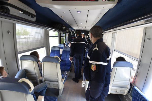 Tournée de la sûreté ferroviaire de la SNCF