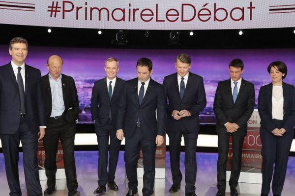 Les candidats au 1er tour de la Primaire de la gauche