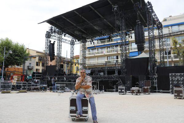 Le Festival des Nuits du Sud seront place du Grand Jardin et Teo Saavedra, toujours aux manettes.