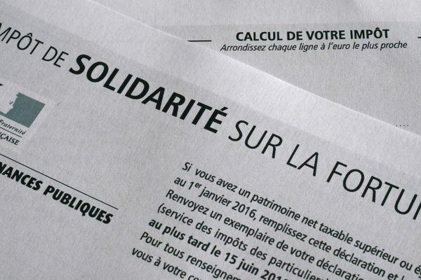Où paie-ton-le plus l'ISF en 2016 en Auvergne-Rhône-Alpes?