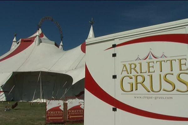 Le cirque est à Reims jusqu'à lundi après-midi.