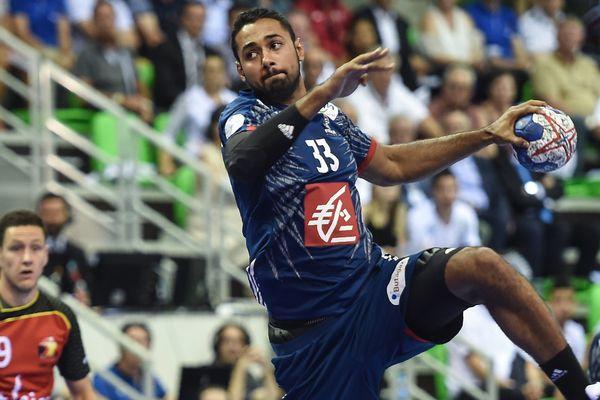 Parmi les joueurs présents, Melvyn, le fils de l'ancien capitaine de l'équipe de France Jackson Richardson.