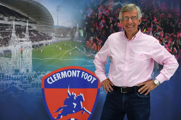 Claude Michy, l'actuel président du Clermont Foot 63