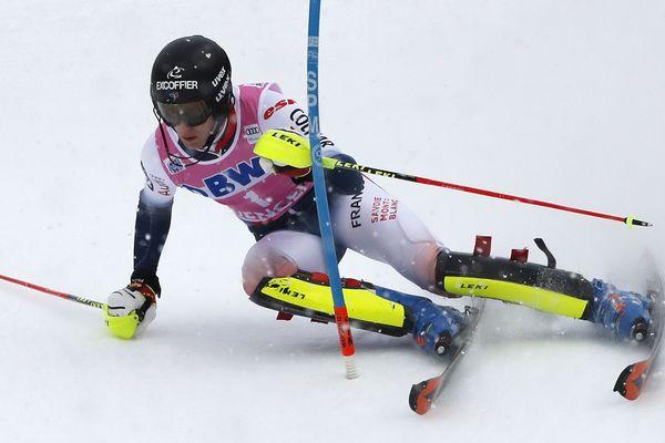 Clément Noël remporte son 2nd slalom consécutif en Coupe du Monde à Wengen (Suisse), dimanche 19 janvier2020.