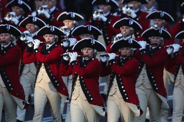 La musique fait partie de l'armée.