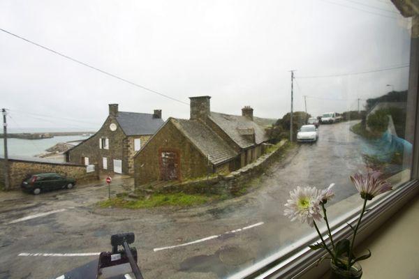 Un beau ciel gris quelque part dans le Cotentin.