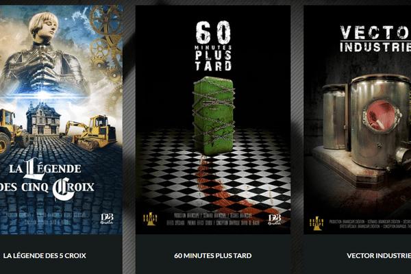 La salle de jeu propose trois scénarios différents