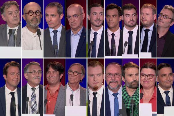 Les photos de couverture pour les débats de l'Eure-et-Loir, de l'Indre-et-Loir, du Loir-et-Cher et du Loiret (de gauche à droite et de haut en bas).