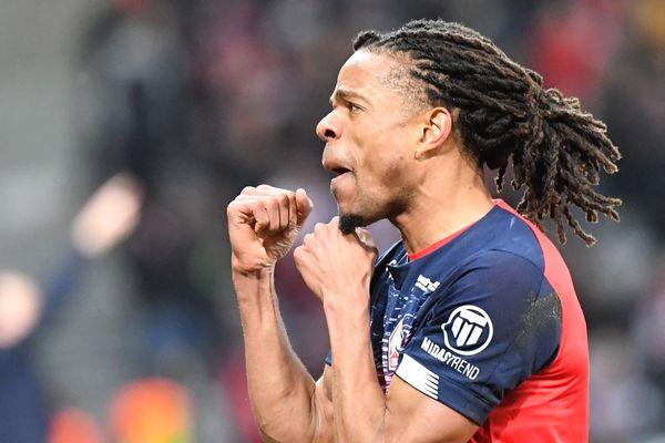 Loïc Rémy a offert la victoire au LOSC face à l'OL, avec son 7e but cette saison en Ligue 1.