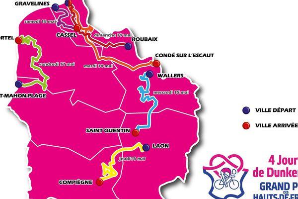 Cette année, la Picardie est mieux intégrée au parcours que lors de l'édition 2018.