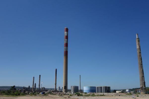 Le site de 260 hectares de l'ancienne raffinerie Pétroplus