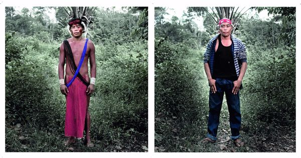"""""""Quand je vois les jeunes de Camopi boire et fumer n'importe quoi, je me dis que j'ai bien fait de partir vivre au Brésil, vivre à nouveau comme mes ancêtres. Peut-être que les jeunes ont mal parce qu'ils ne vivent plus comme avant, ils ne sont plus comme avant."""""""