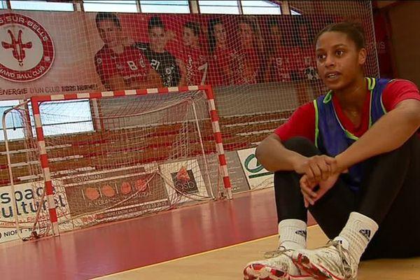 Soukeina Sagna est une pièce maîtresse de l'équipe de Celles-sur-Belle.