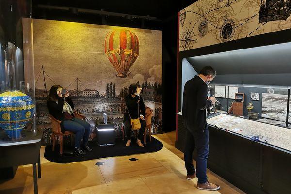 L'histoire de la montgolfière est à découvrir dans un musée à Saint-Brieuc