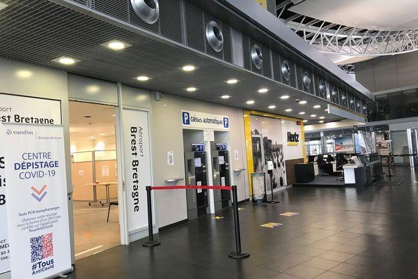 Depuis ce lundi 28 juin, il est possible de se faire dépister au Covid à l'aéroport de Brest et ceci trois mois durant