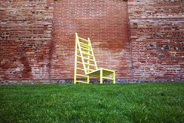 La chaise étoile du designer toulousain Kamel Secraoui