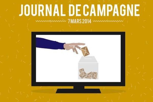 A l'occasion des élections municipales, France 3 Bourgogne vous propose un « journal de campagne » diffusé dans le JT de 19h, du lundi au vendredi.