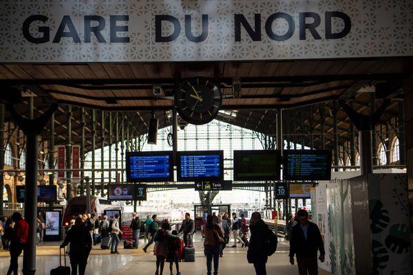 La gare du Nord fait l'objet de travaux dans le cadre de son projet de transformation.