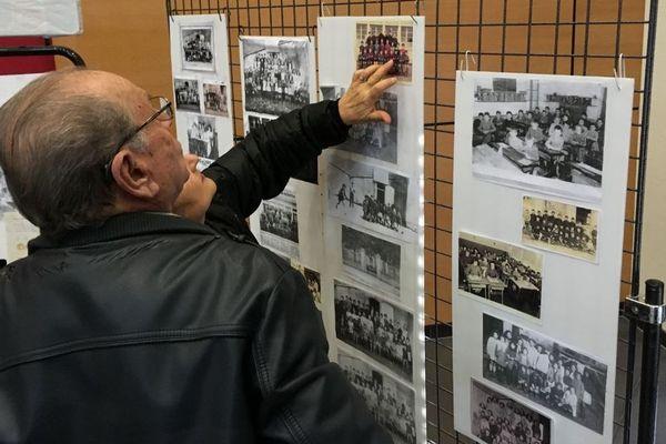 A Claix en Charente, une exposition recense les photos souvenirs de la commune.