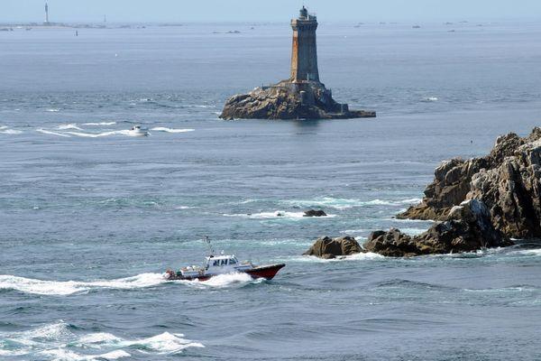 Le phare de la Vieille, au large de la point du Raz (photo d'illustration).
