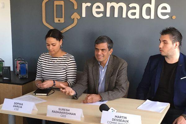 Remade, première conférence de presse du nouveau patron