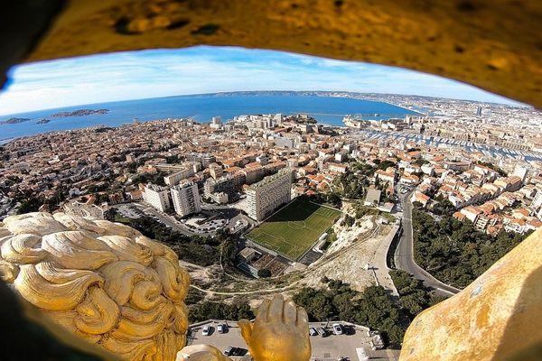 Marseille : dans les yeux de Notre-Dame de la Garde...