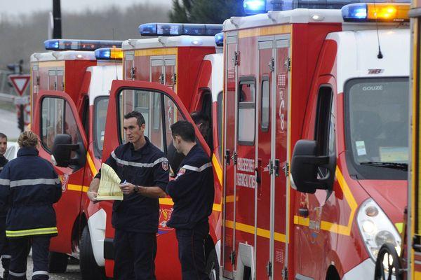 Des pompiers en Loire-Atlantique.