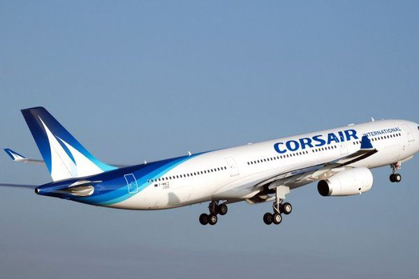 Un avion de Corsair.