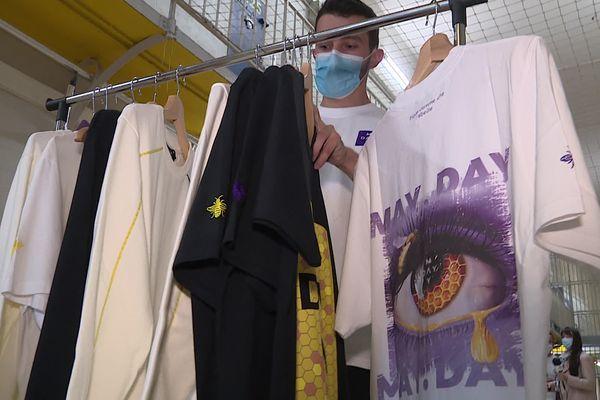 La première collection de la marque May Day a été conçue avec des détenus de la prison de Besançon.
