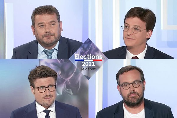 Alain Pichon, Sacha Houlié, Sylvain Robin et Mathias Aggoun