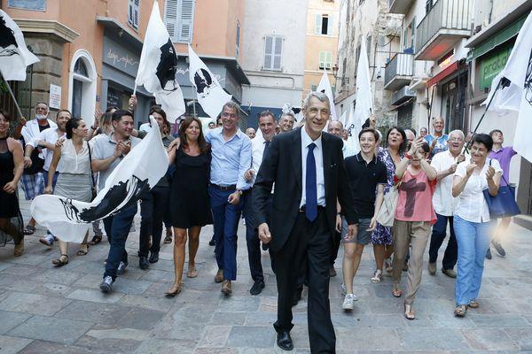 Le député nationaliste de la 1e circonscription de Haute-Corse, Michel Castellani
