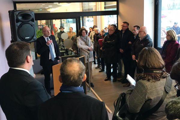 Inauguration de l'espace France Services de Perseigne à Alençon le 8 janvier 2020