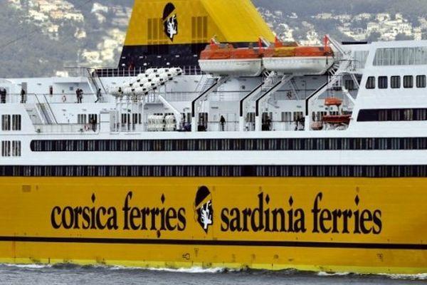 ILLUSTRATION - Un navire de la compagnie Corsica Ferries