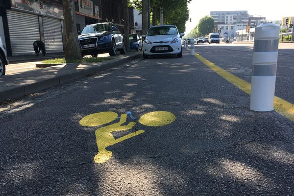 Des pistes cyclables sur les grands boulevards rouennais