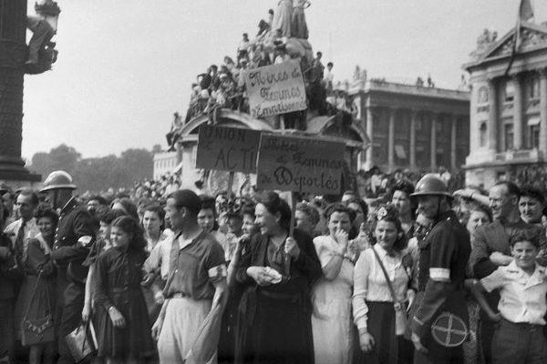 La libération de Paris en 1944, un événement vécu par Georges Massard.