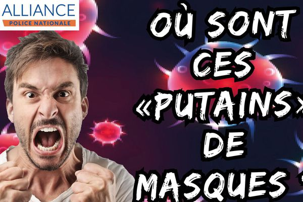 Capture photo d'accueil page Facebook Alliance Police Occitanie